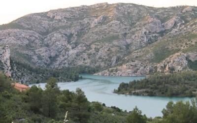 Zonas de baño en el Bajo Aragón