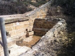 Fuente del túnel
