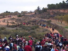 Ruta Torrevelilla, desierto de Calanda