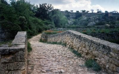 El camino de Santiago en el Bajo Aragón