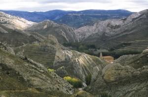 Paisaje en Aliaga (Teruel)