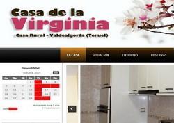 Casa de La Virginia en Valdealgorfa